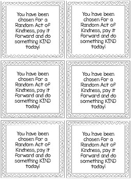 Kindess Activity
