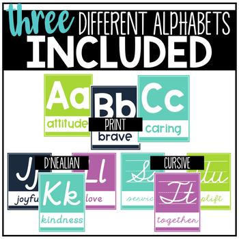 Kindess Alphabet