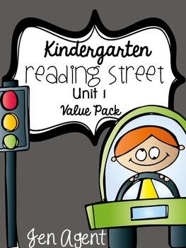 Kindgarten Reading Street {Unit 1 Value Pack}