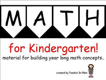 Kindgergarten Math Unit