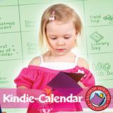 Kindie-Calendar Gr. PK-1