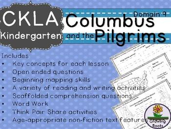 Kindie GRADE LEVEL LICENSE: CKLA Kindie Columbus and Pilgrims Companion Domain 9