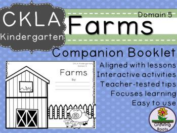 Kindie GRADE LEVEL LICENSE: CKLA Kindie Farms Companion Domain 5