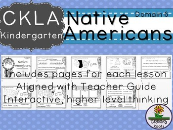 Kindie GRADE LEVEL LICENSE: CKLA Kindie Native Americans Companion Domain 6