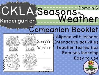 Kindie GRADE LEVEL LICENSE: CKLA Kindie Seasons and Weather Companion Domain 8