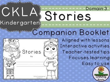 Kindie GRADE LEVEL LICENSE: CKLA Kindie Stories Companion Domain 3