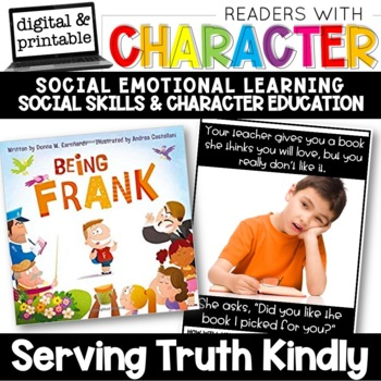 Kindly Being Honest - Character Education | Social Emotional Learning SEL