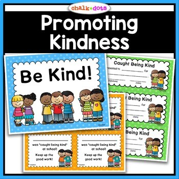 """Kindness - """"Caught Being Kind"""" Certificates"""