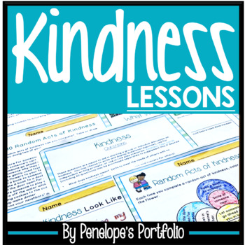 KINDNESS Character Education Packet