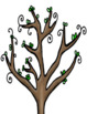 Kindness Tree w/ Leaves to write Compliments: Kindness Week Activity or Anytime!