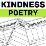 Kindness Acrostic Poem - RANDOM ACTS OF KINDNESS - KINDNESS