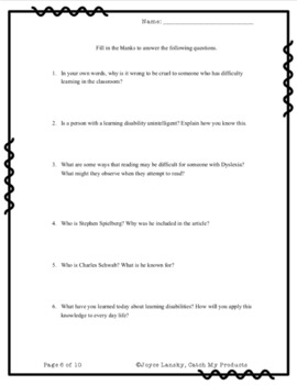 Kindness Activity : Empathy Building Toward LD for The Gifted and Talented