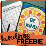 Kindness Activities FREEBIE