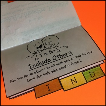 Kindness Activities Mini Flipbook and Bookmarks