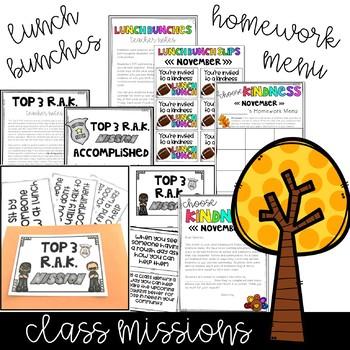 Kindness Activities - November