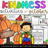 Kindness Activities - October