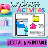 Kindness Activities - Printable- Seesaw & Google Links
