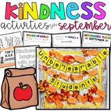 Kindness Activities - September