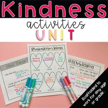 Kindness Activities Unit