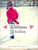 Kindness Activities for Students in Grades K-8