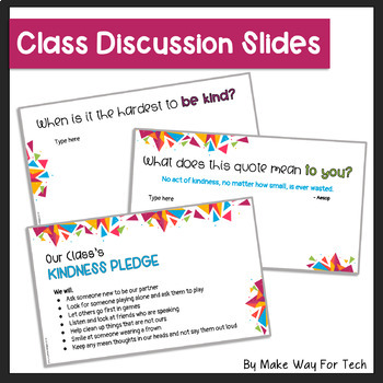 Kindness Activities | Kindness Posters and Bulletin Boards for Google Classroom