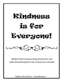 Kindness Activity Booklet