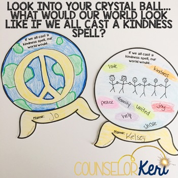 Kindness Activity Classroom Guidance Lesson for Elementary School Counseling