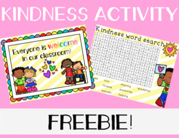 Kindness Activity FREEBIE