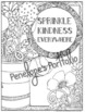 Kindness Activity:  Kindness Coloring Pages (Flower Themed)