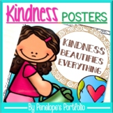 Kindness Posters in Color and Black / White