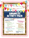 Character Building-Kindness Activity Pack