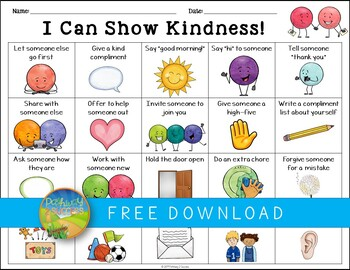 Kindness Activity for World Kindness Day