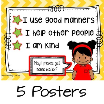Kindness And Politeness (Success Orientations-Character Education) Pre-K to 3rd