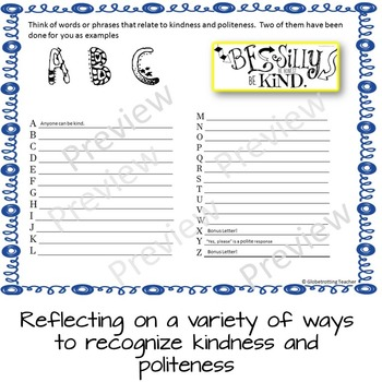 Character Education-Kindness And Politeness (Success Orientations) 6th - 8th