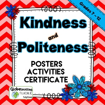 Character Education-Kindness And Politeness (Success Orientations) 7th - 12th