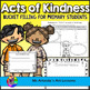Kindness Bundle: Acts of Kindness and Poster Activity for Primary Students