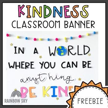 Kindness Banner FREE