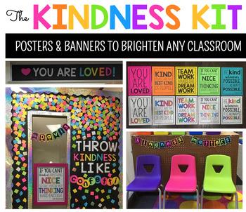 Kindness Banners (3 Freebies)