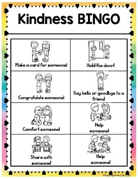 Kindness Bingo!