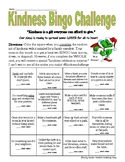 Kindness Bingo Challenge - Month of December *Christmas*