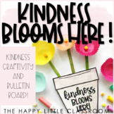 Spring-themed Kindness Craftivity and Bulletin Board