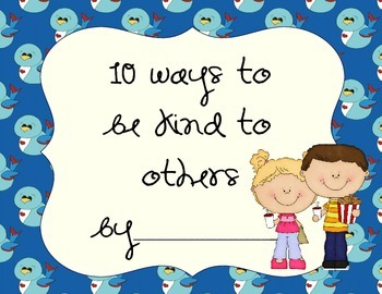 Kindness Book- 10 Ways to Be Kind