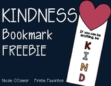 Kindness Bookmark Freebie