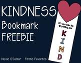 Kindness Bookmark Freebie