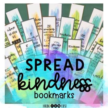 Kindness Bookmarks