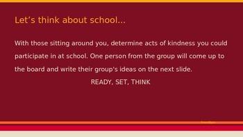 Kindness Boomerang: Character Education Lesson