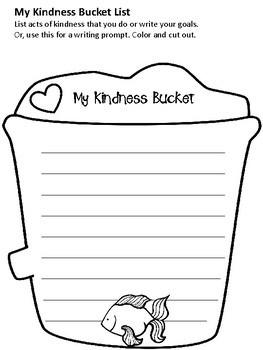 Kindness Bucket