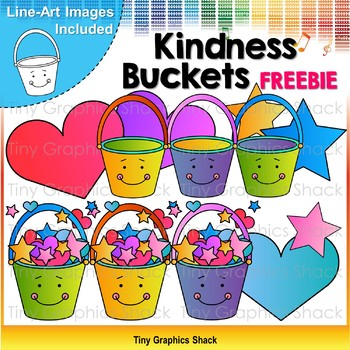 Kindness Bucket Clip Art Freebie