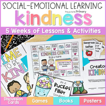 Kindness & Bucket Filling - Social Emotional Learning Curriculum