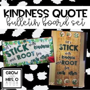 Kindness Bulletin Board (Cactus Theme)